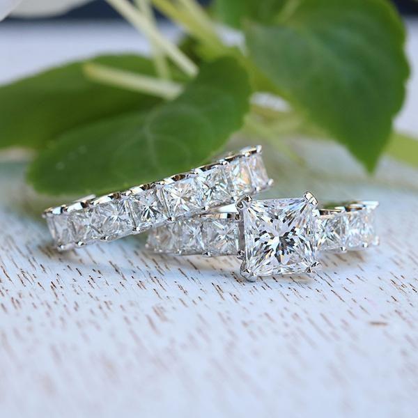 Princess Bride Diamonds Huntington Beach 14K White Gold The