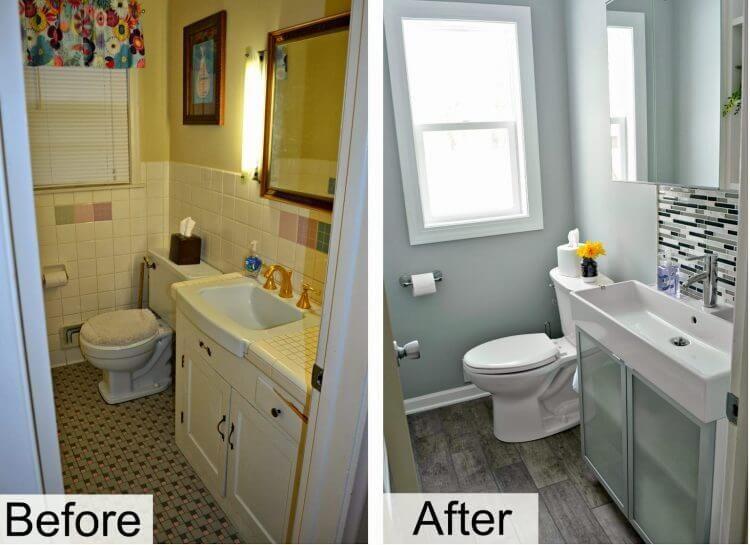 Bathroom Remodel, Inexpensive Bathroom Updates
