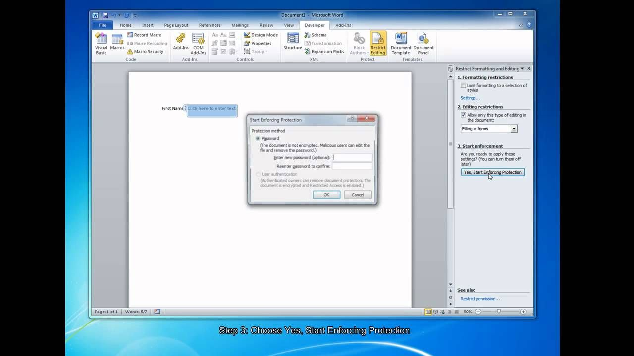 How To Create Fillable Forms In Microsoft Word 2010 Regarding How To Use Templates In Word 2010 Microsoft Word 2010 Fillable Forms Word Template