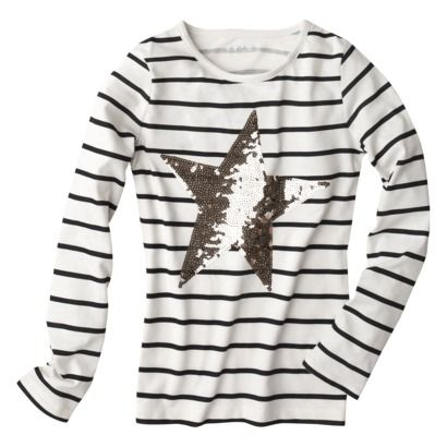 Sequin Star Shirt Target Mini Style Kids Outfits Fashion Sequins
