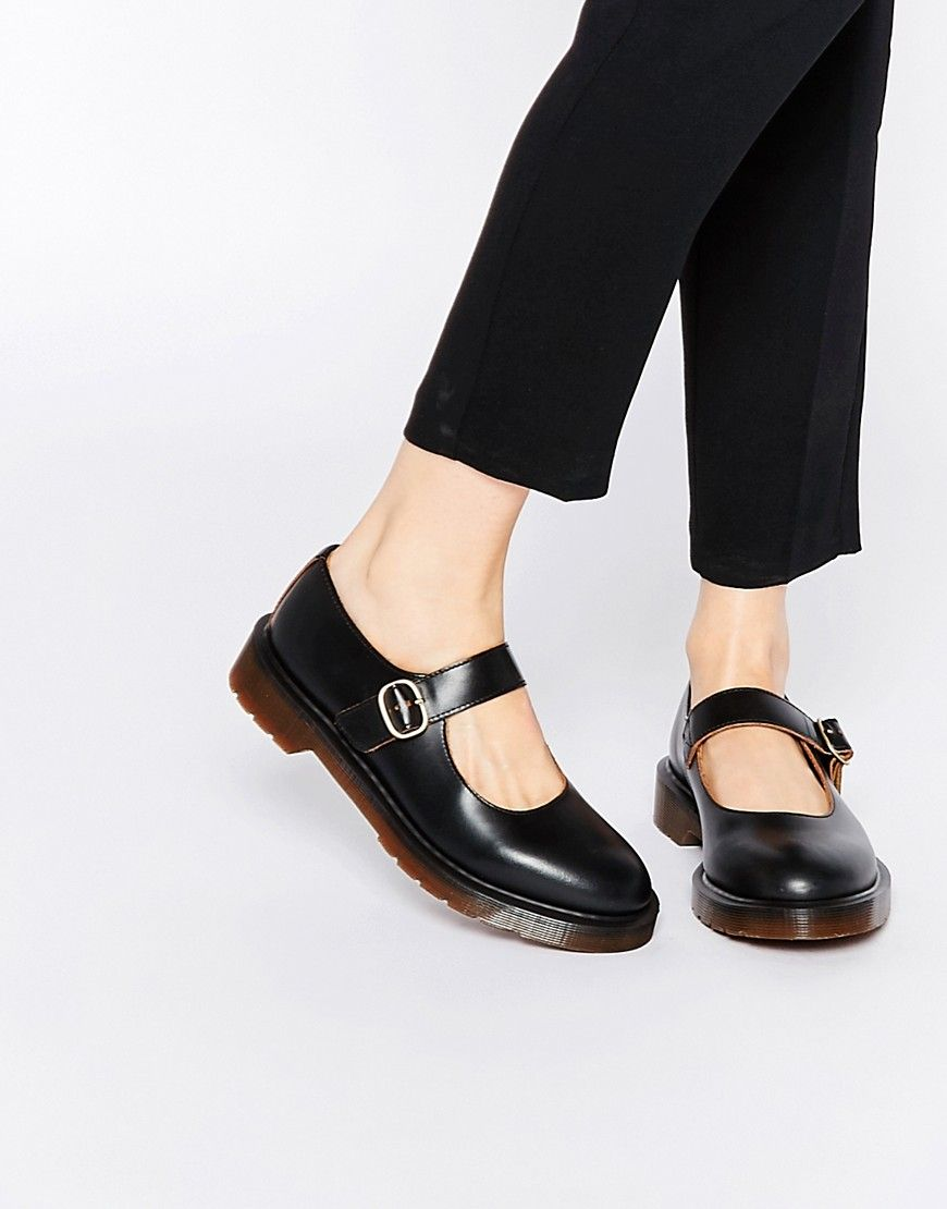 Image 1 of Dr Martens Archive Indica Mary Jane Flat Shoes   tiptoe ... 80a0a4bdadf0