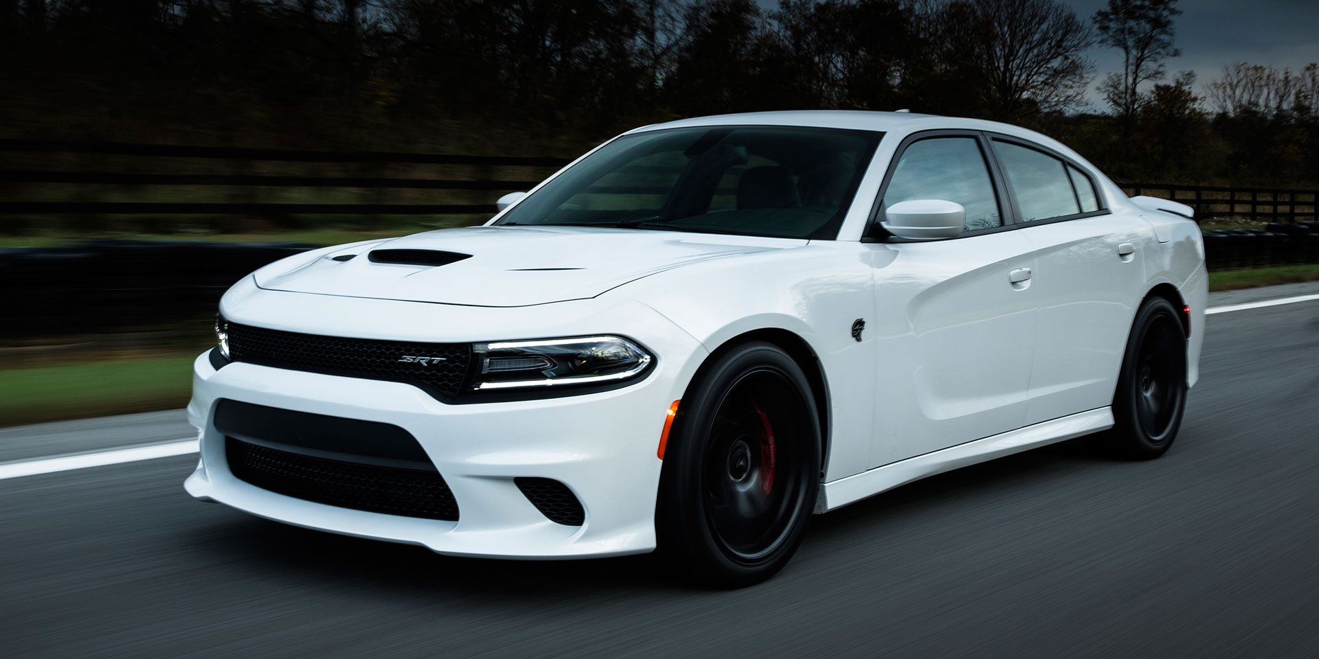 2015 dodge charger srt hellcat vehicles on display chicago auto show 2015