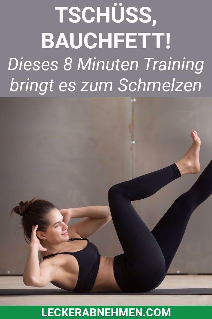 Wer schnell Bauchfett verlieren will, sollte diese Bauch Übungen machen und seine Ernährung anpassen...