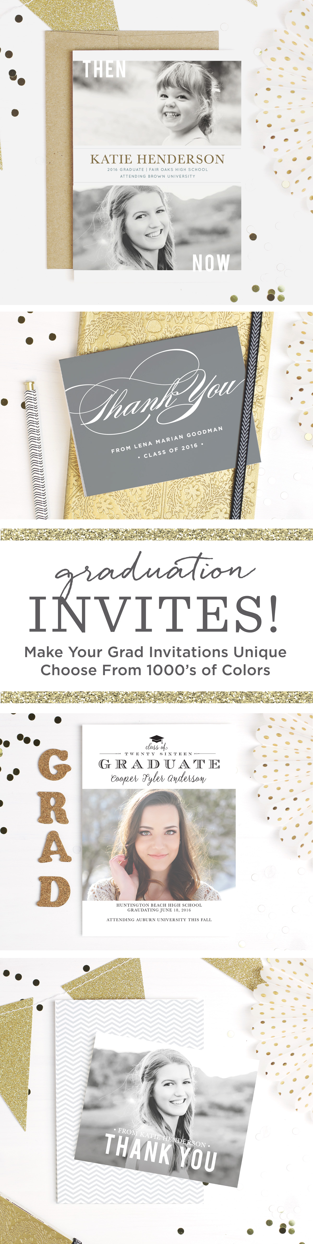 Celebrate your soon-to-be grad with Basic Invite s new line of ...