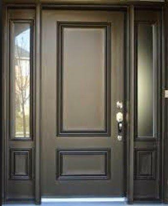 contoh model pintu rumah mewah klasik sliding dengan