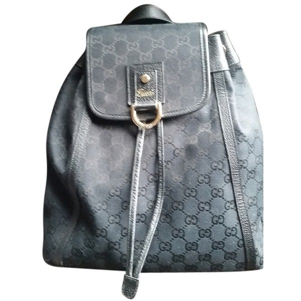 Pre-owned Gucci Backpack ($375) ❤ liked on Polyvore