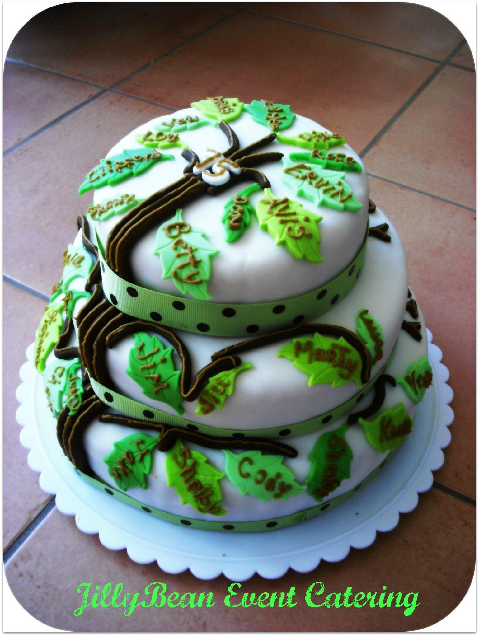 A Family Tree Cake