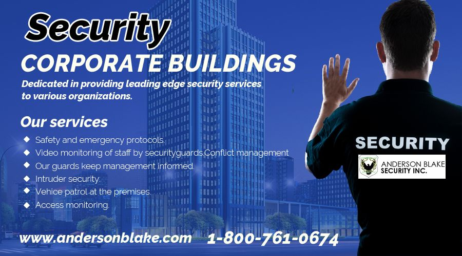 We provide you the best Corporate Building Security
