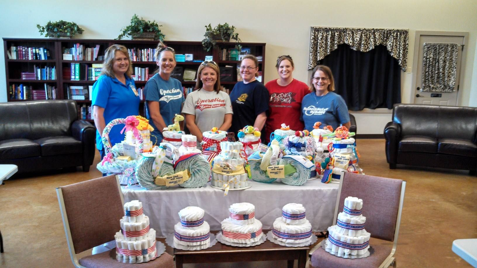 Thank You To All The Volunteers That Came Out To Help Make Diaper