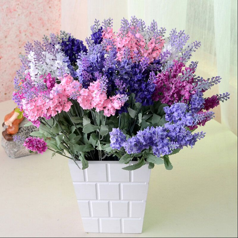 Cheap wedding decorated stages, Buy Quality wedding banquet decoration directly from China wedding bottle decorations Suppliers:  10 head Artificial Lavender Silk Flower Bouquet Floral Display A14    Description:   Condition:100 % brand new    Mater