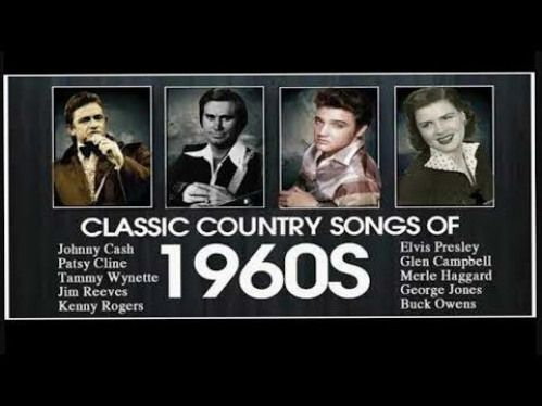 Best Classic Country Songs Of 1960s  Top Country Music Hits of 60s Country Music Collection  YouTube