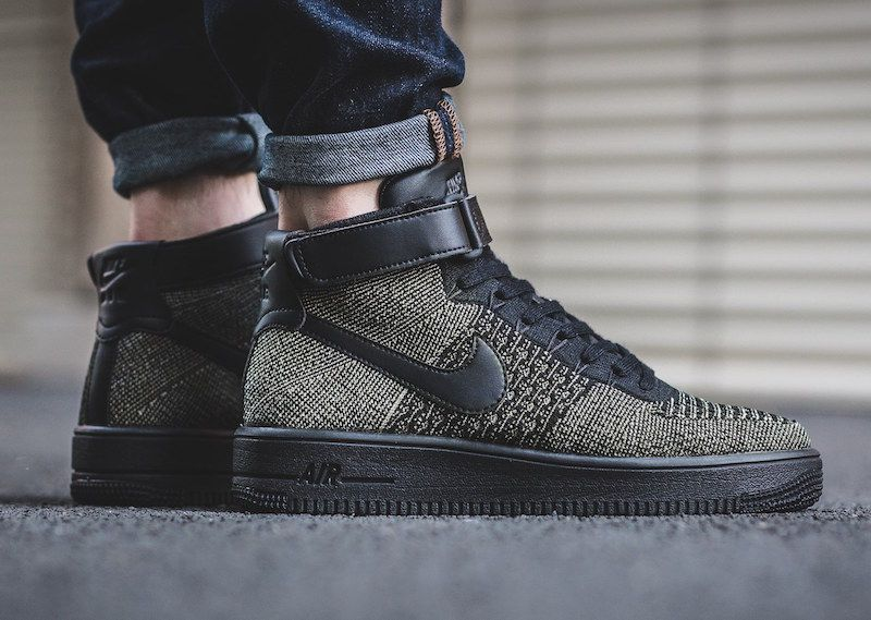 Nike Air Force 1 Ultra Flyknit Mid Palm Green | Nike air