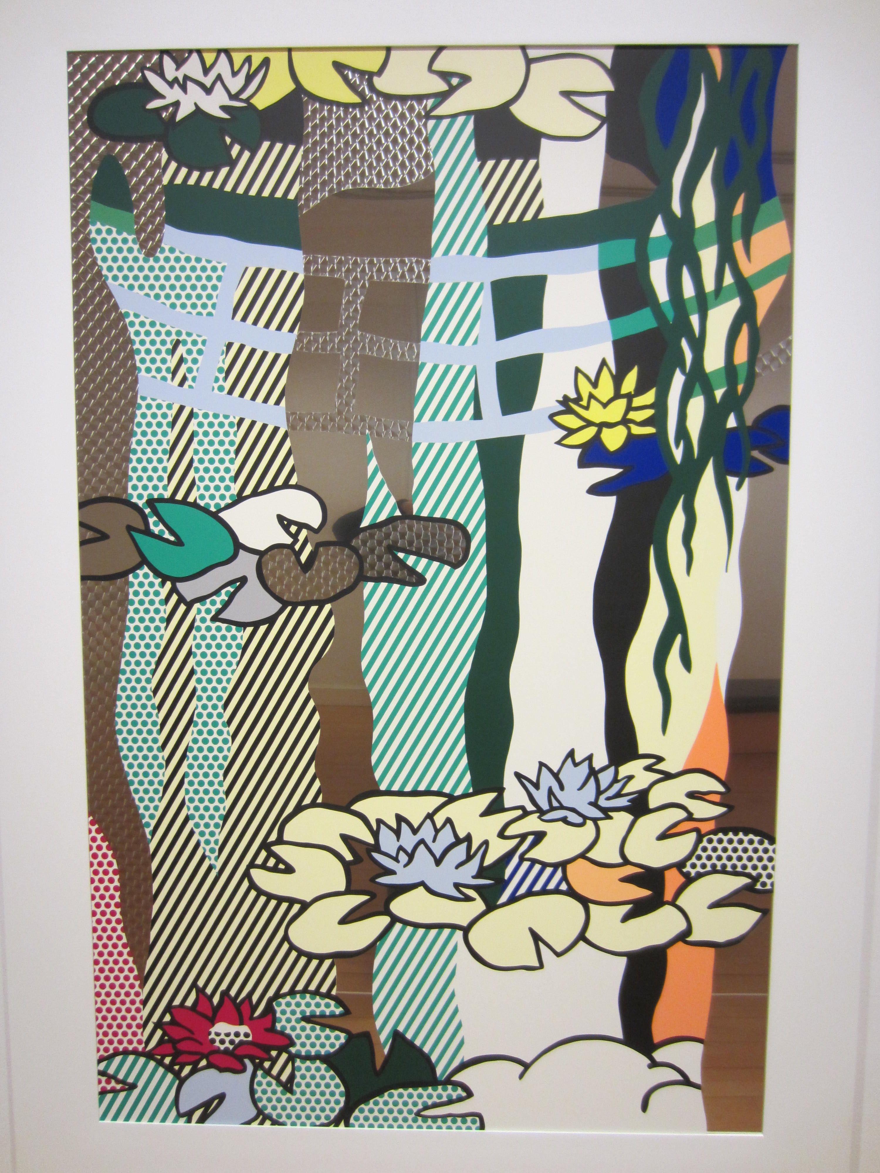 Roy Lichtenstein, Water Lily Pond with Reflections.   art ...