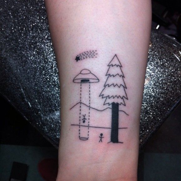 abduction tattoo