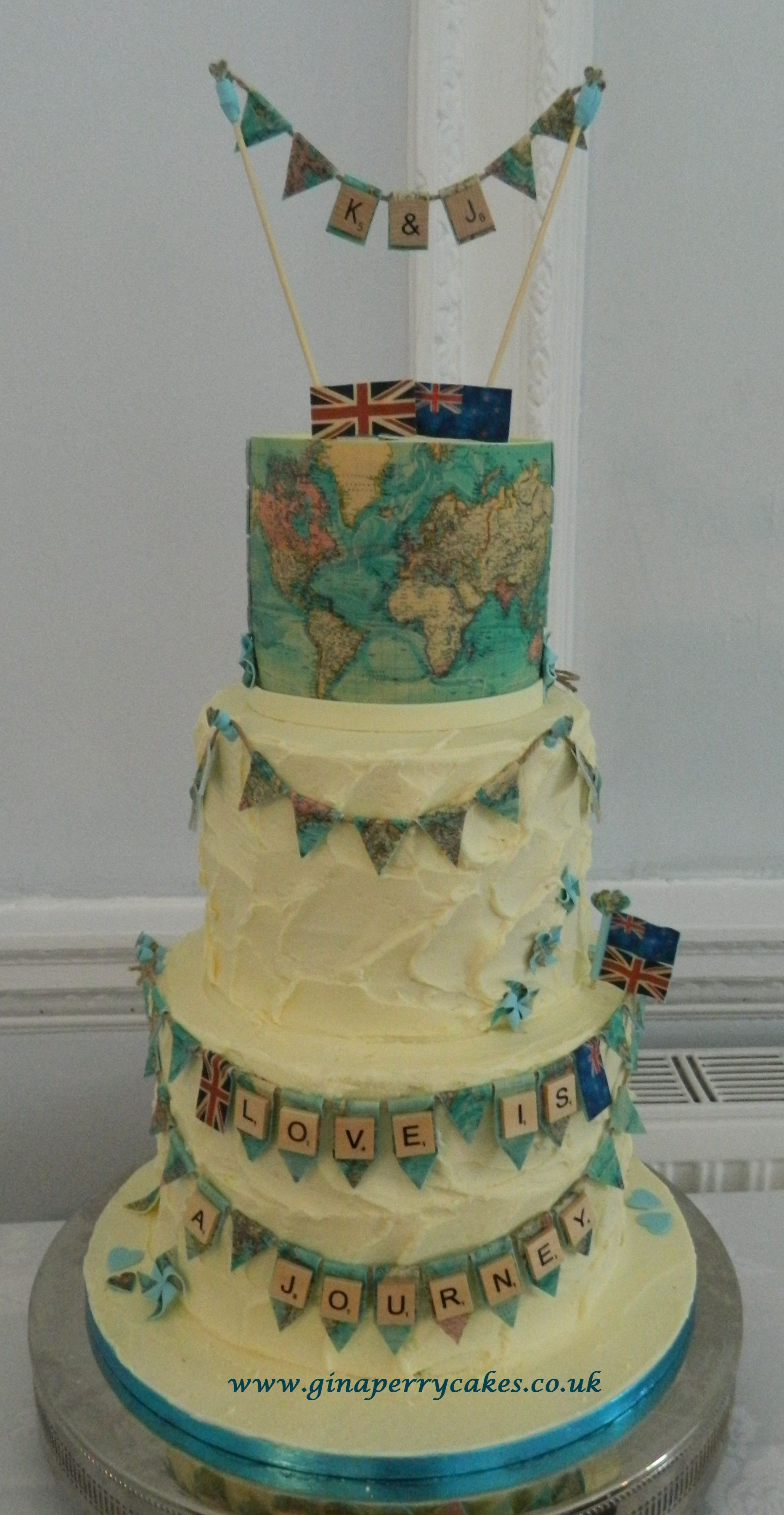 vintage themed wedding cake vintage map themed wedding cake for a well travelled 21606