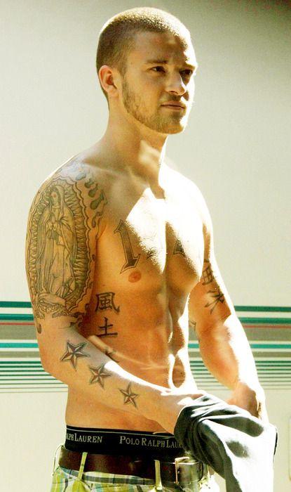 Alpha Dog Tattoo Eyecatchingtattoos Com Justin Timberlake Shirtless My Love Justin Timberlake