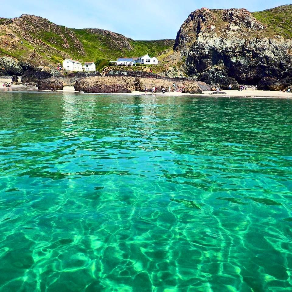 Kynance Cove Cafe In Cornwall England The Beauty Of