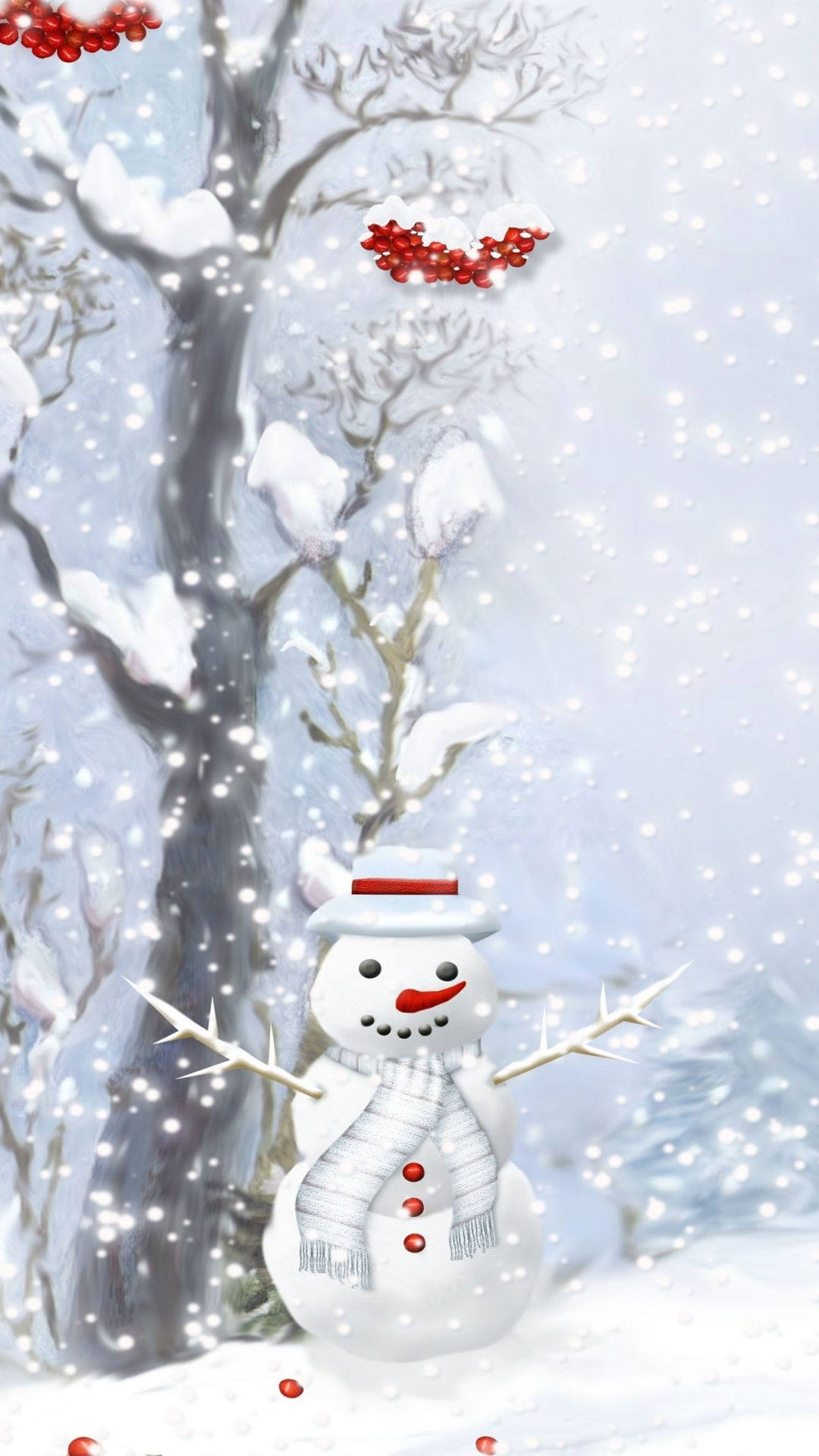 christmas snowman Apple iPhone 5s hd wallpapers available