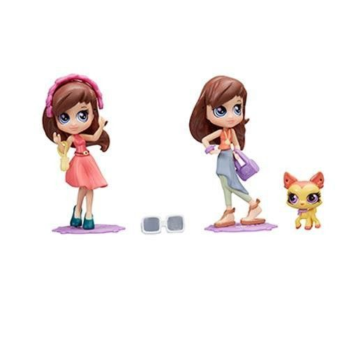 Littlest Pet Shop Blythe Style Casual Set [Blythe and Fawna Woodbury]
