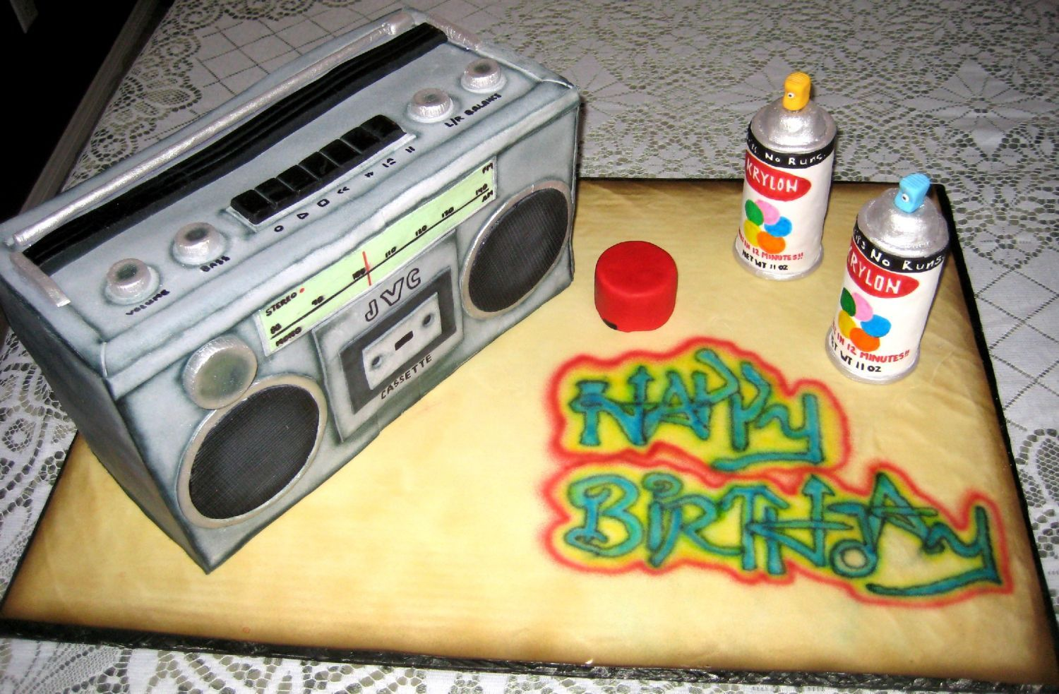 80 S Boombox Misc 3d Cakes Dance Party Birthday 16th Birthday Party Hip Hop Birthday