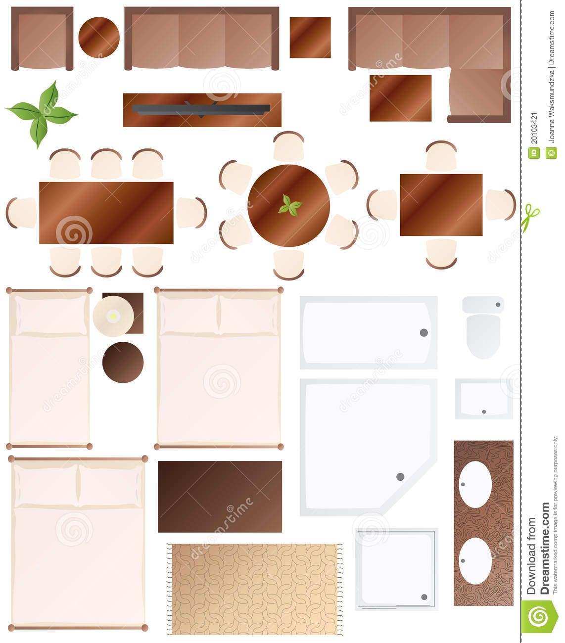 furniture plan view google search