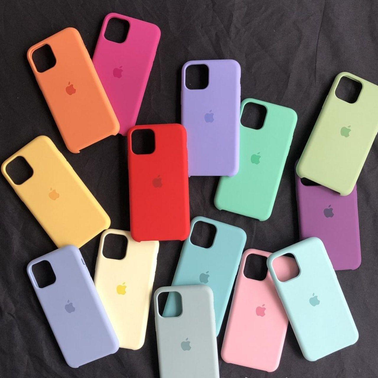 Liquid apple case for iphone 11 official original mobile