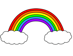 How To Draw A Cartoon Rainbow Rainbow Drawing Rainbow Cartoon