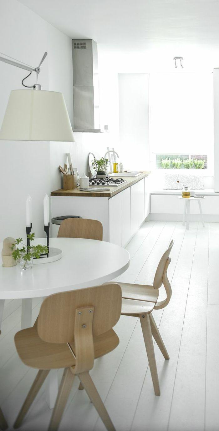 d couvrir la beaut de la petite cuisine ouverte petite cuisine ouverte style scandinave et. Black Bedroom Furniture Sets. Home Design Ideas