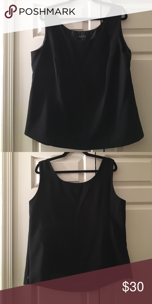 ✨CHIC TANK SUIT SEPARATE✨ KASPER NWT PLUS SIZE 16 True to size and perfect for work Kasper Tops