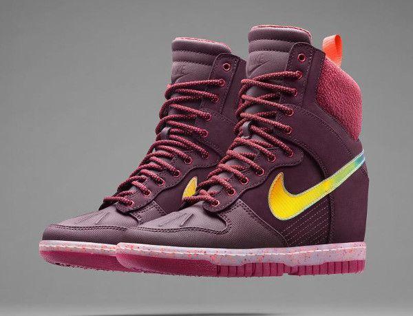 Femme Nike Dunk Sky Hi Sneakerboot 2014