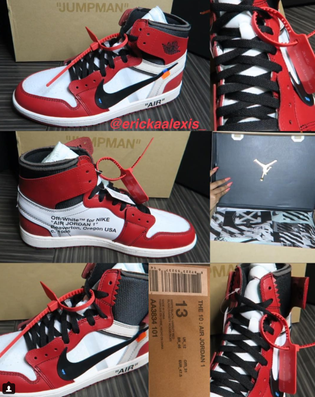 pretty nice 75d27 23d73 Off-White x Air Jordan 1 | Kicks | Jordans, Air jordans ...