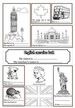 Pages De Garde Du Cahier D Anglais L école De Petite Prune