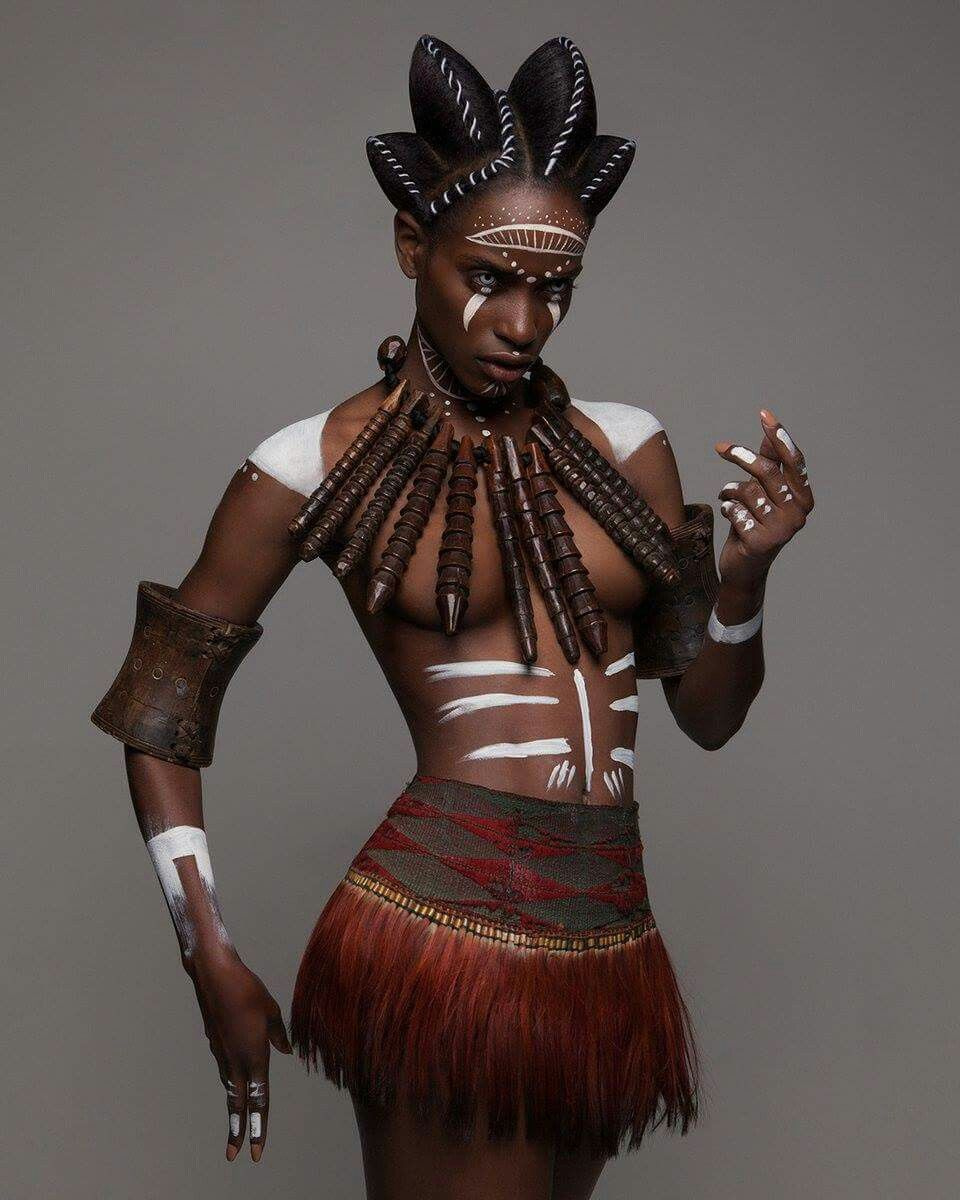 African makeup african hair african goddess african style african -  British Hair Awards 2016 Afro Finalist Collection By Luke Nugent Tribal Makeupafrican Hairstylesblack