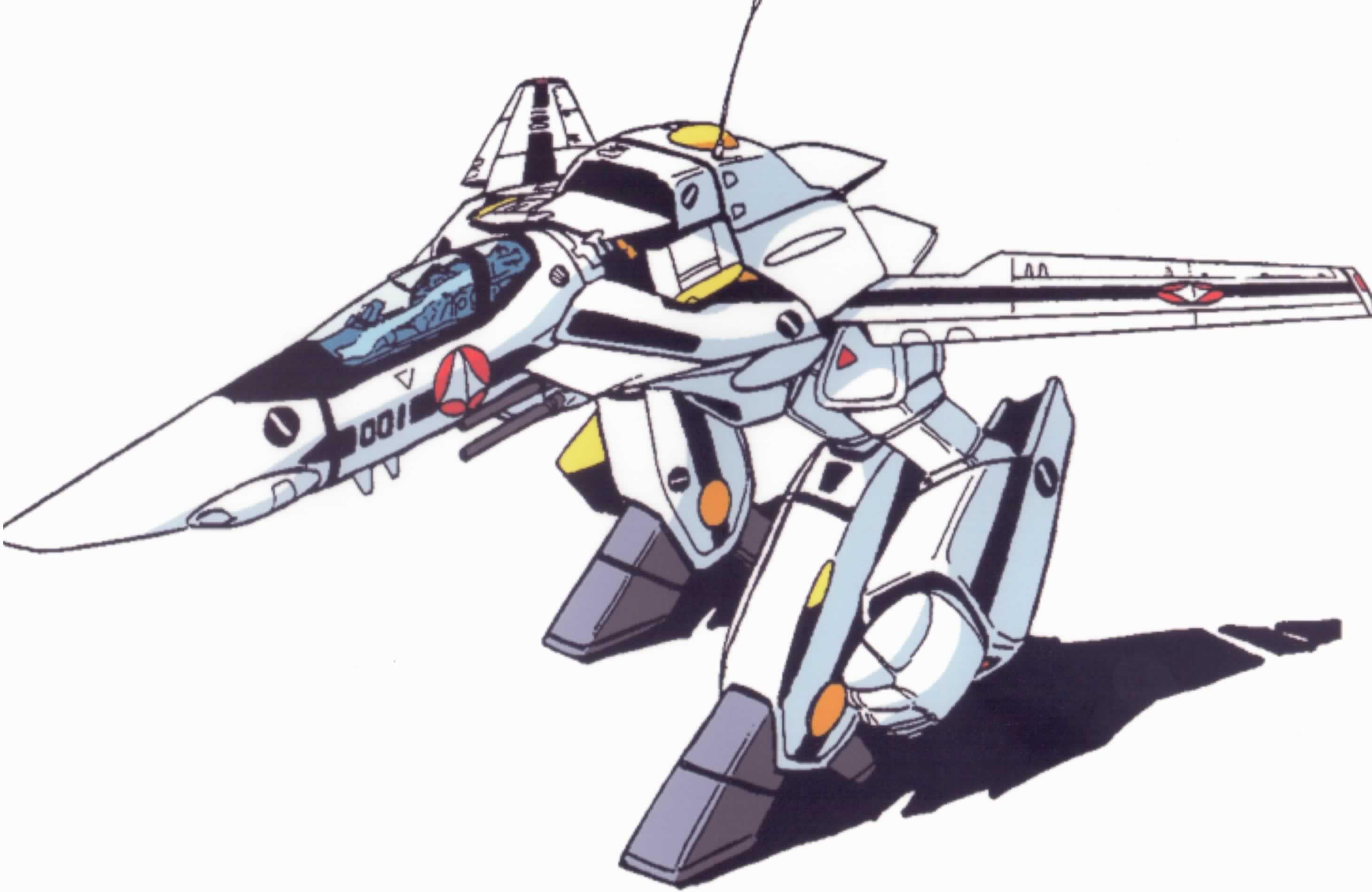 Guardian mode Robotech macross, Robotech