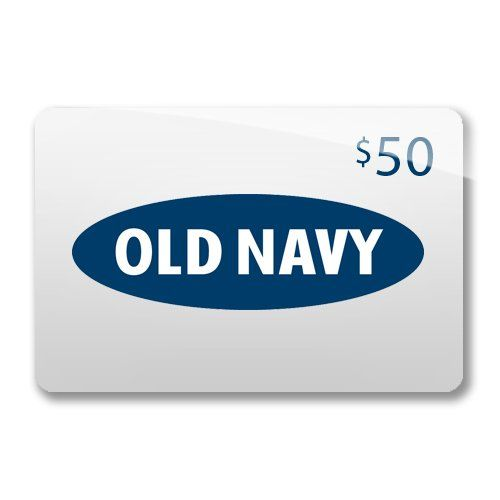 Fifty Dollar Old Navy Gift Card Ends Tonight Navy Gifts Gift
