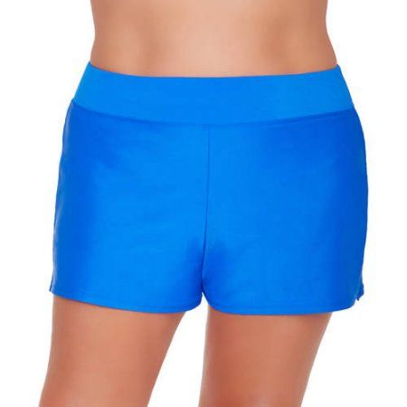 869004aab8a Catalina Women s Plus-Size Full Coverage Swim Shorts