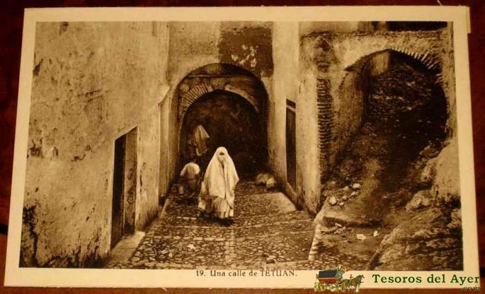 TETUAN (MARRUECOS) CALLE - L. ROISIN - SIN CIRCULARlote_40300.jpg (700×425)