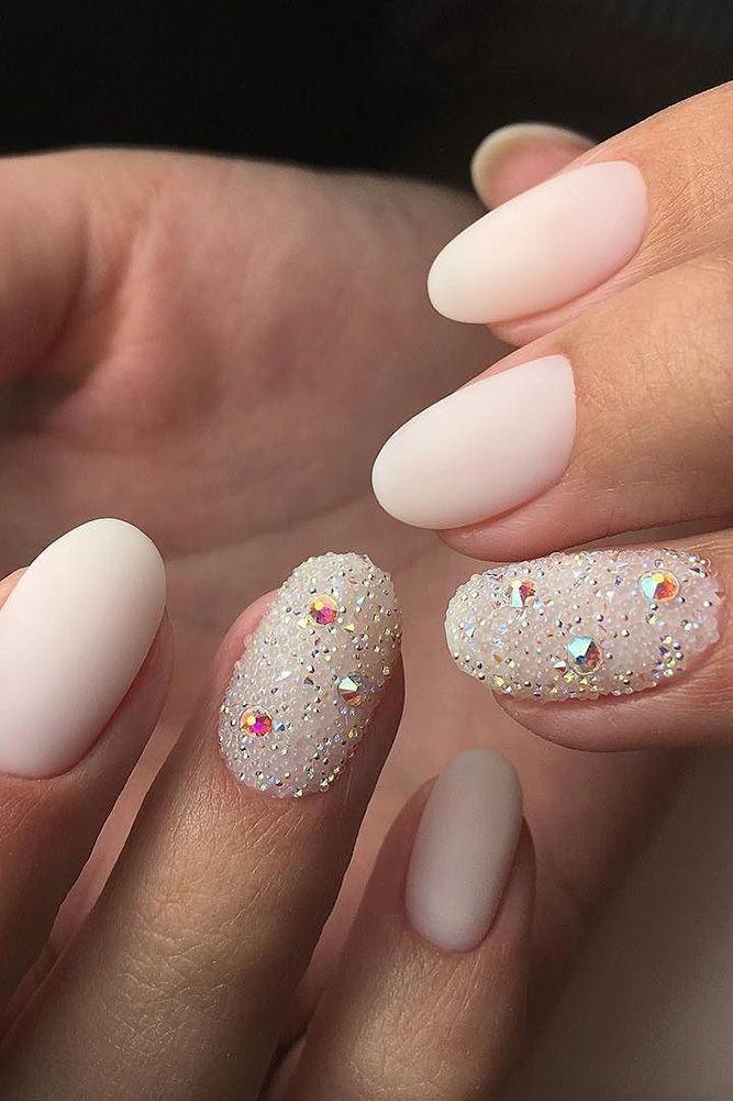 30 Pinterest Nails Wedding Ideas You Will Like Wedding Forward Gel Nail Designs Glitter Nails Acrylic Natural Gel Nails