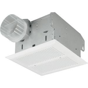 Nutone Heavy Duty 50 Cfm Ceiling Exhaust Fan Hd50nt The Home Depot Bathroom Exhaust Fan Bathroom Fan Ventilation Fan