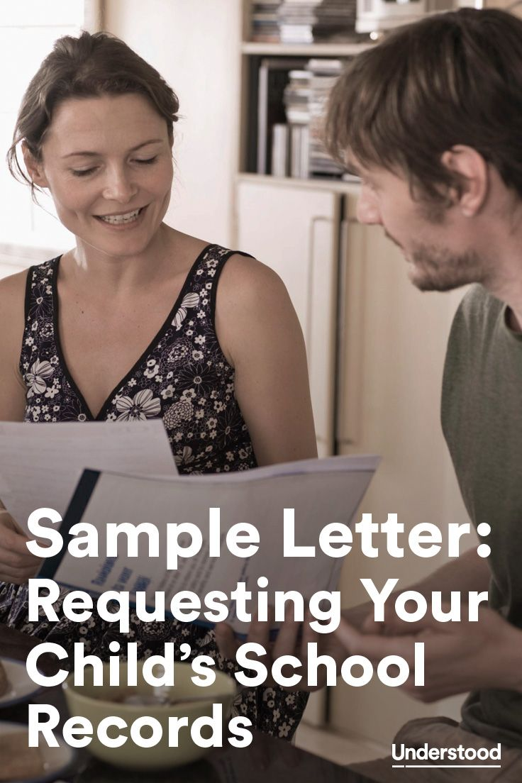 Use this sample letter if you need