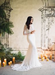 In honor of the 2016 Jose Villa Workshop Announcement, we're looking back at all the beauty including the ceremony and wedding details, from invitations to cake!