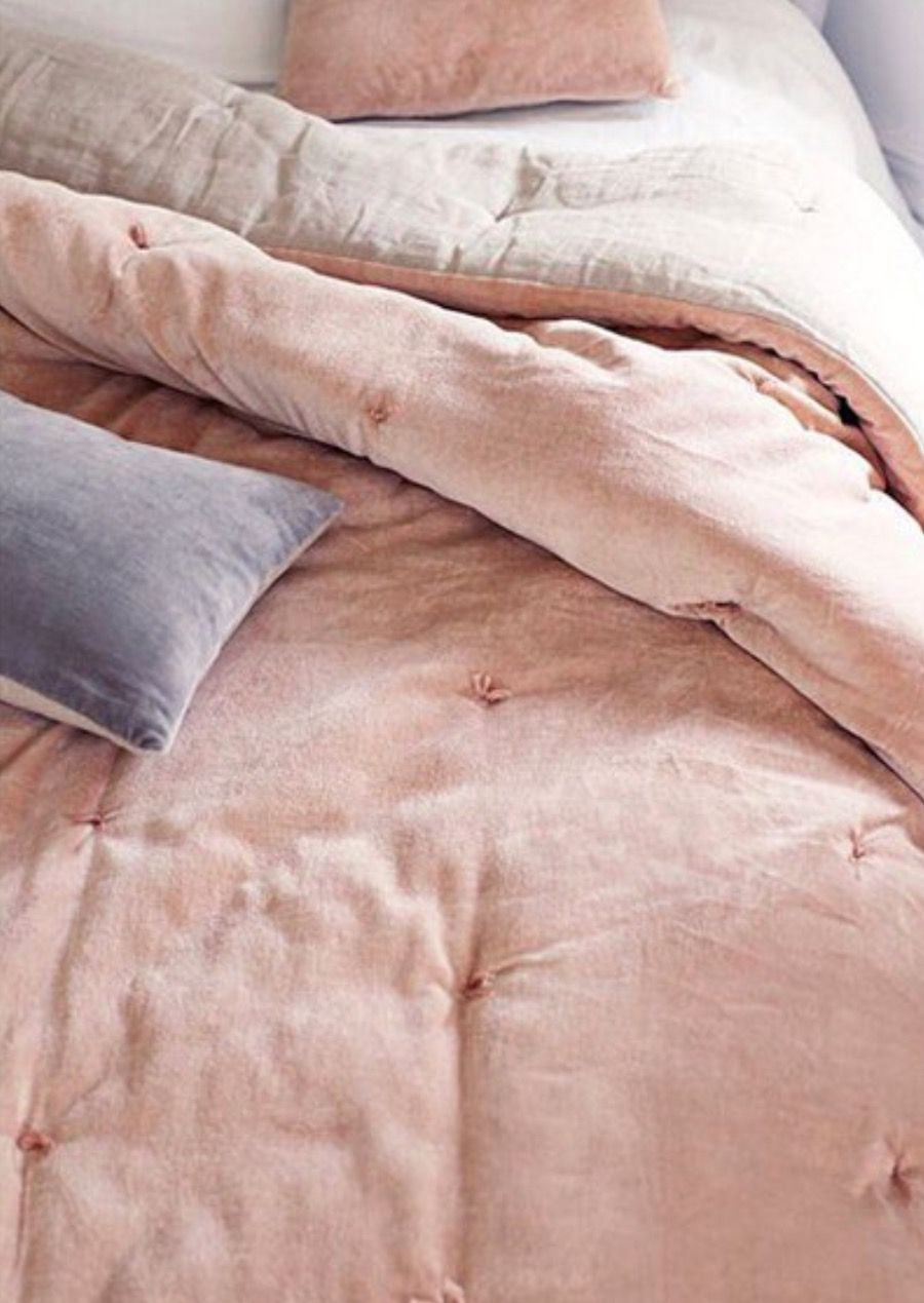 blue bed sheets tumblr. Velvet Quilt, Design Ideas, Pink, Blue Grey, Tumblr Bed Sheets