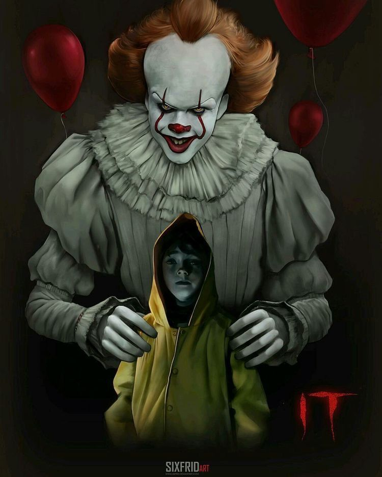 Pin By Lindsey R Johnson On Stephen King Scary Movies Scary Clowns Horror Films