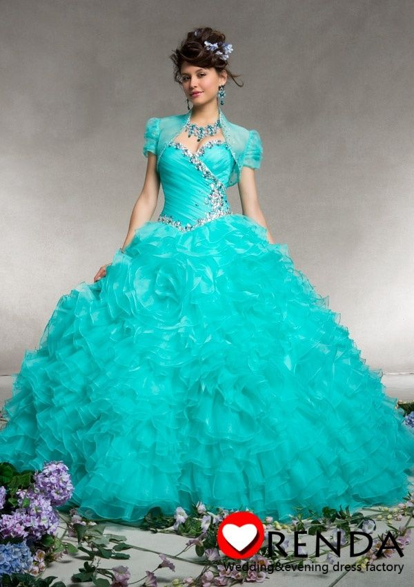 teal wedding gowns | Amazing Pageant Ball Gown 2013 Teal ...