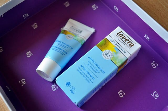 #shinybox #box #cosmetics #cosmeticbox #lipiec #july #lavera #sunsensitiv #aftersunmilch #poopalaniu #bio #eco