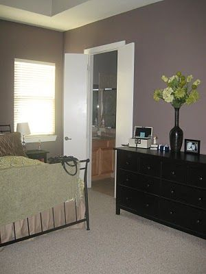 Benjamin Moore Smoked Oyster Master Bedroom Paint