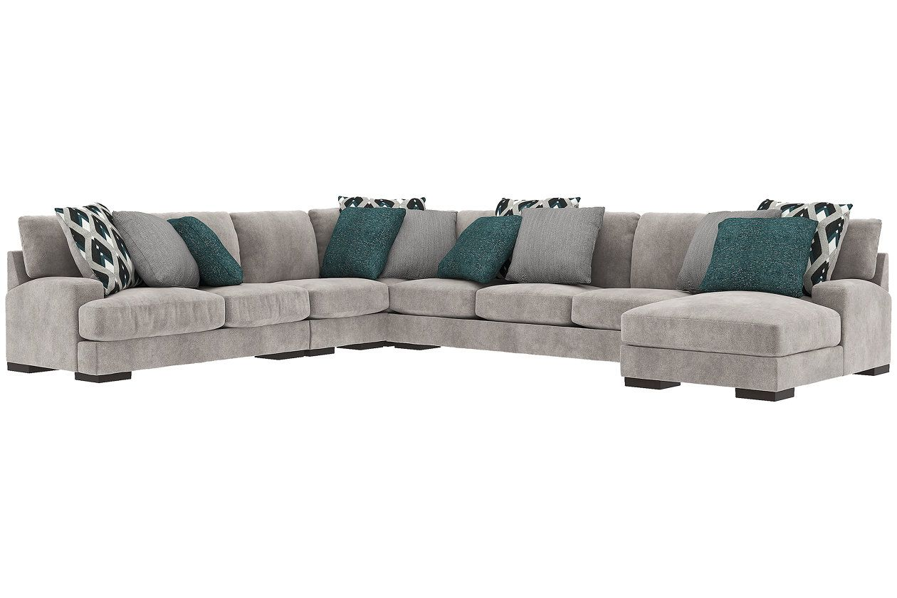 Bardarson 5 Piece Sectional With Chaise Sectional Sectional