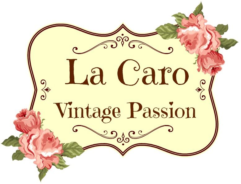 Stamp and invoice Logo My Creations - La Caro Retro Chic - invoice logo