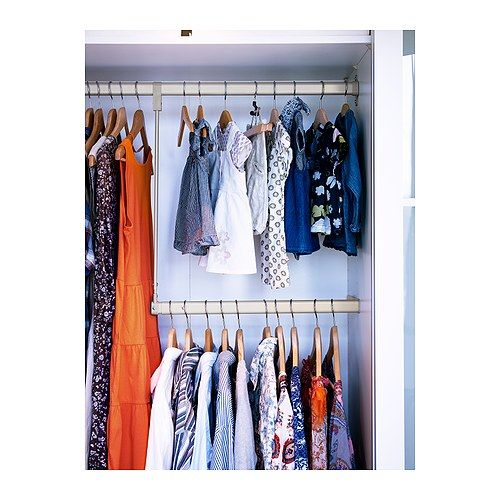 komplement add on clothes rail ikea ikea pinterest. Black Bedroom Furniture Sets. Home Design Ideas