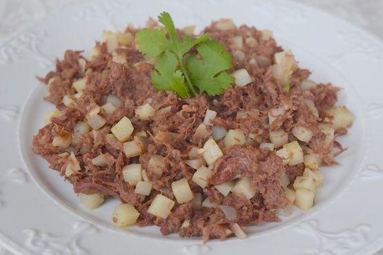 Corned Beef Hash Recipe Beef Hash Pinterest Beef Filipino